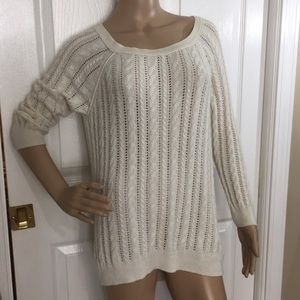 American Eagle Loose Cable Knit Sweater